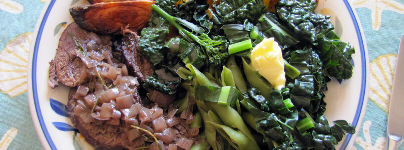 southern style turnip greens recipe