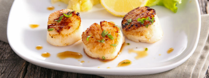 baked sea scallops recipe