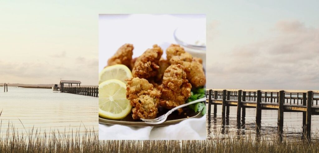 single fried oysters also known as pan fried oysters