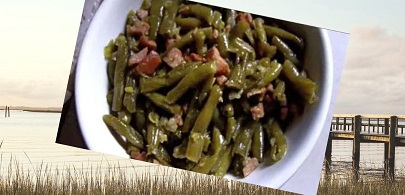 how to prepare southern green beans